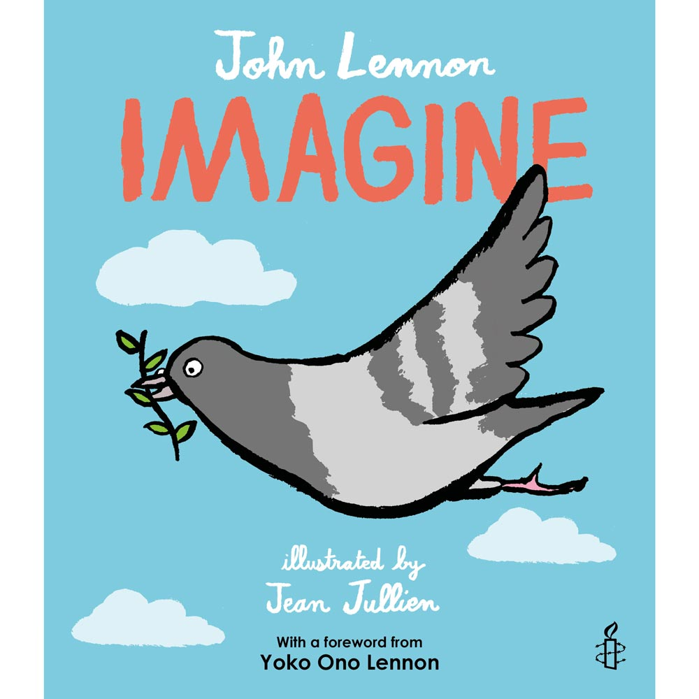 Imagine - Children's Book - John Lennon, Yoko Ono Lennon-Book-Book Lover Gifts