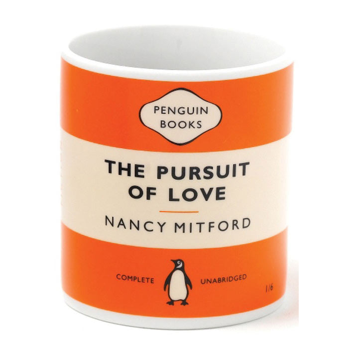 Mug - Penguin - In Pursuit of Love - Nancy Mitford-Mug-Book Lover Gifts