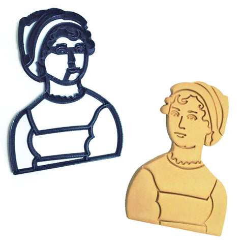 3D Cookie Cutter - Jane Austen-Book Lover Gifts