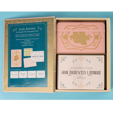 Literary Stationery Set - Jane Austen-Stationery-Book Lover Gifts