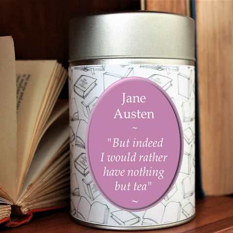 Loose Leaf Tea - Jane Austen Inspired - Tin Tea Caddy