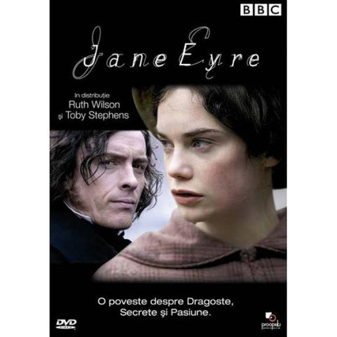 DVD - Jane Eyre - BBC - Ruth Wilson-DVD-Book Lover Gifts