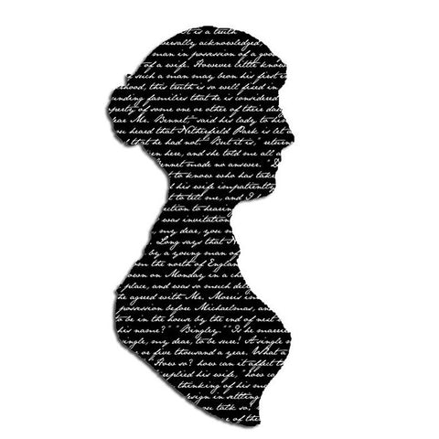 Transfer - Jane Austen Silhouette - Pride and Prejudice