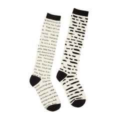 Long Socks - Banned Books - Knee High
