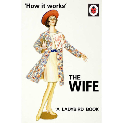 How it Works: The Wife - Ladybird Book-Book-Book Lover Gifts