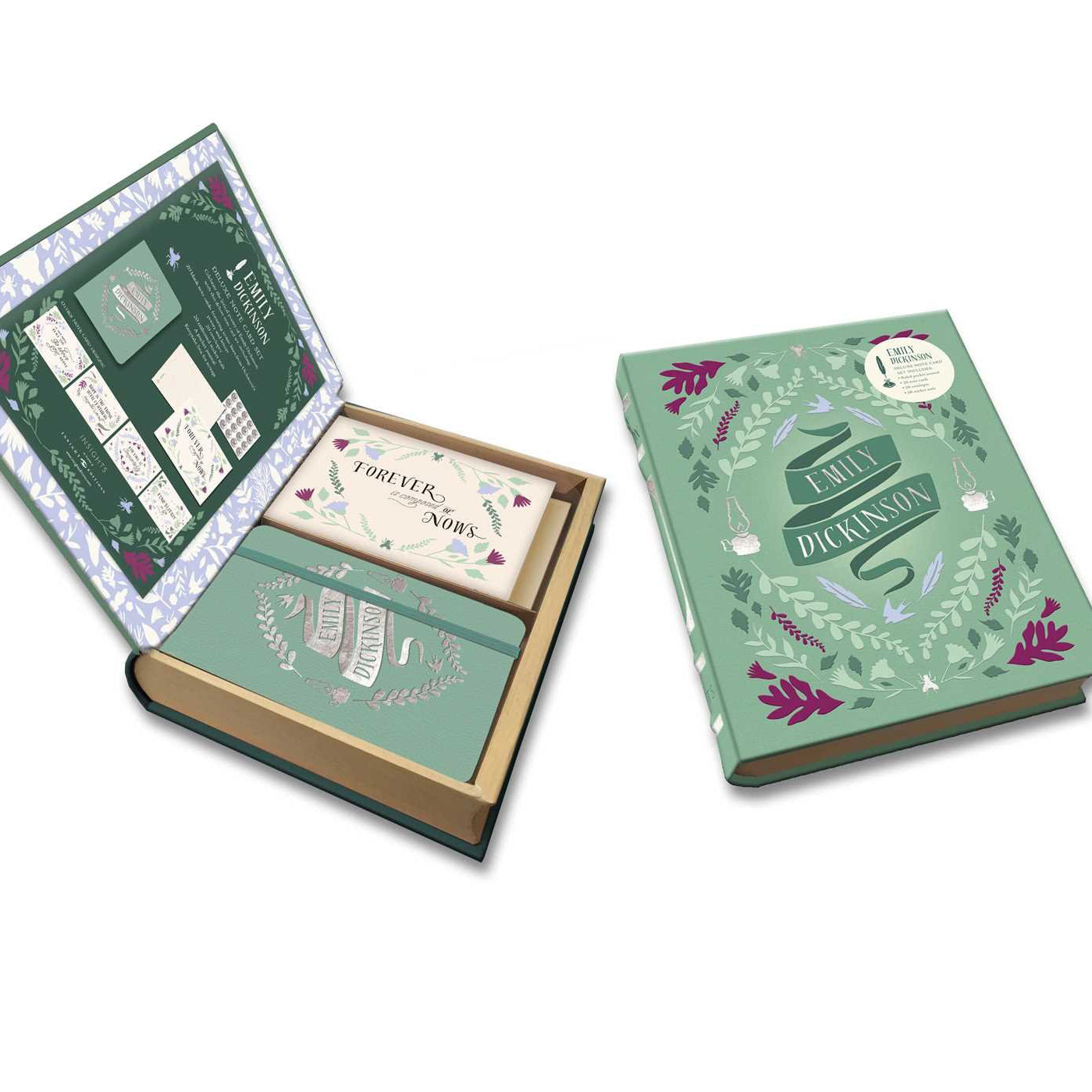 Literary Stationery Set - Emily Dickinson