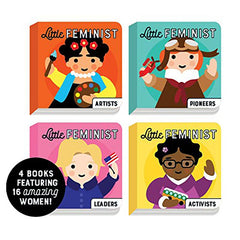 Board Book Set - Little Feminist by Emily Kleinman, Lydia Ortiz-Book-Book Lover Gifts