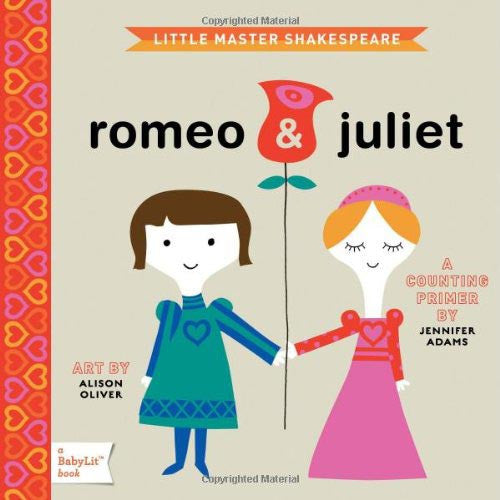 Little Master Shakespeare - Romeo & Juliet Babylit