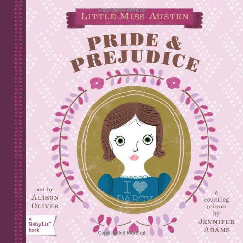 Little Miss Austen - Pride & Prejudice - Counting - Jane Austen Babylit-Book-Book Lover Gifts