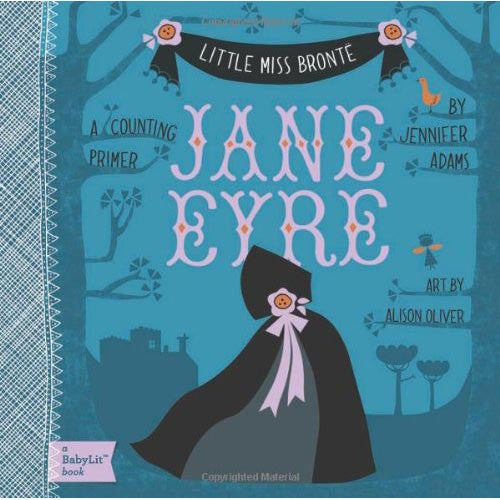 Little Miss Bronte - Jane Eyre - Counting - Charlotte Bronte - Babylit-Book-Book Lover Gifts