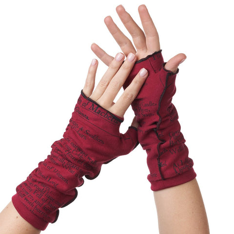 Writing Gloves - Macbeth - Shakespeare