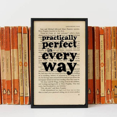 Book Print - Practically Perfect In Every Way - P. L. Travers