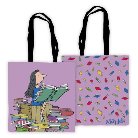 Tote Bag - Roald Dahl - Matilda - Full Colour