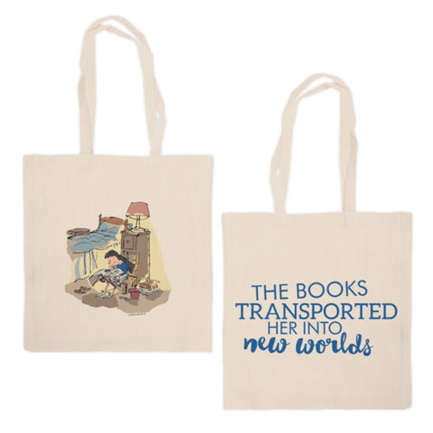 Tote Bag - Roald Dahl - Matilda - Books New Worlds