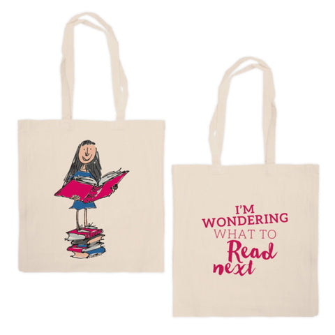 Tote Bag - Roald Dahl - Matilda - What to Read Next?