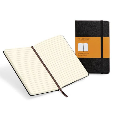 Notebook - Pocket Ruled - Moleskine Legendary-Journal-Book Lover Gifts