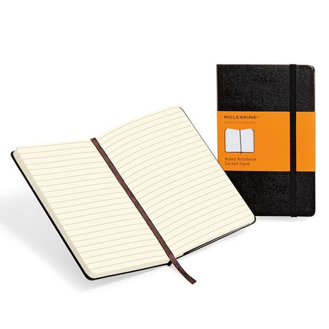 Notebook - Large Ruled - Moleskine Classic-Journal-Book Lover Gifts
