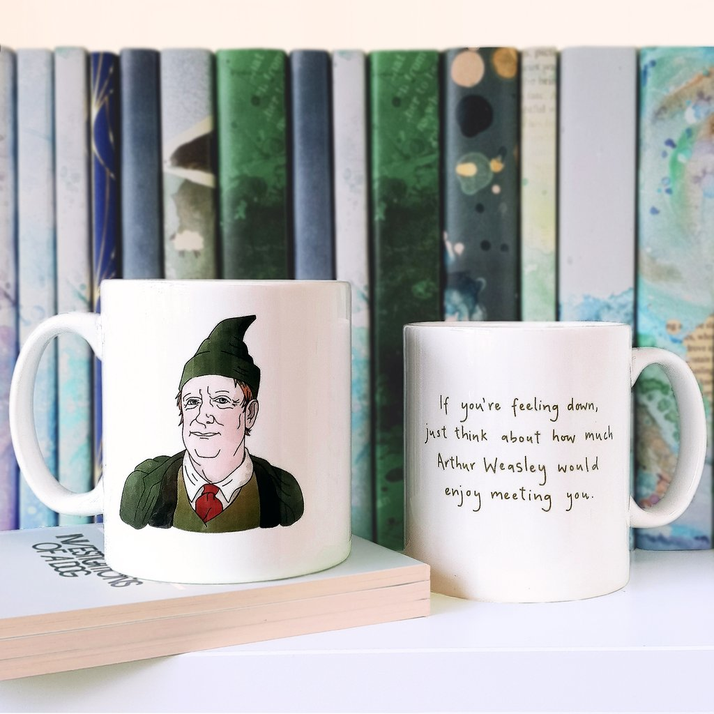 Mug - Harry Potter Inspired - Arthur Weasley