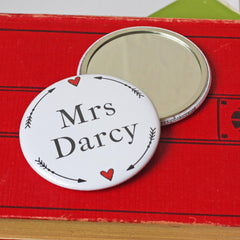 Pocket Mirror - Jane Austen - Mrs Darcy-Gifts-Book Lover Gifts