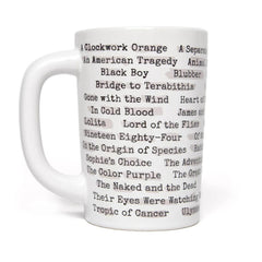 Mug - Heat Reactive - Banned Books-Mug-Book Lover Gifts