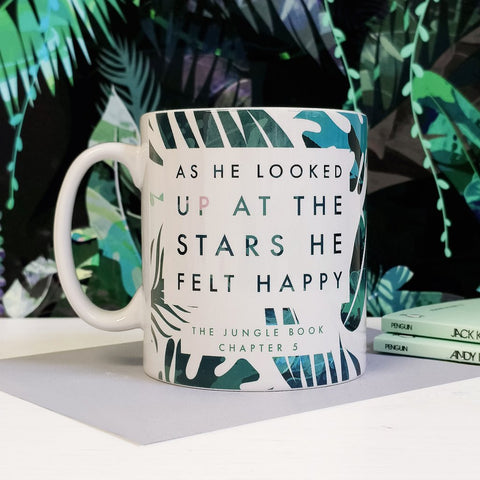 Mug - Jungle Book - Looked Up At Stars Felt Happy