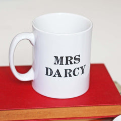 Mug - Mr & Mrs Darcy - Jane Austen Wedding Gift Set