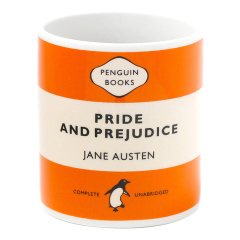 Mug - Penguin - Pride & Prejudice - Jane Austen-Mug-Book Lover Gifts