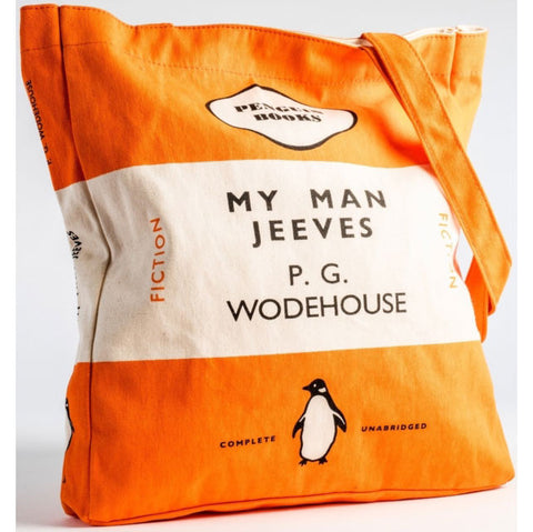Book Bag - My Man Jeeves - Penguin-Bag-Book Lover Gifts