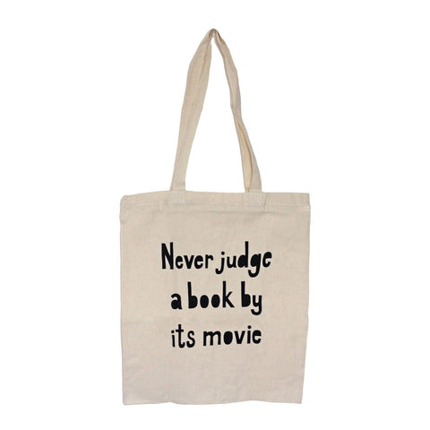 Bag / Tote - Never Judge a Book by its Movie