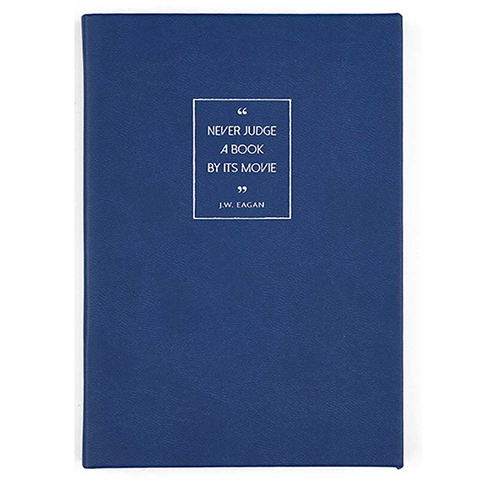 Note Book - British Library - Never Judge a Book by its Movie