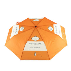 Umbrella - On The Road - Penguin-Umbrella-Book Lover Gifts