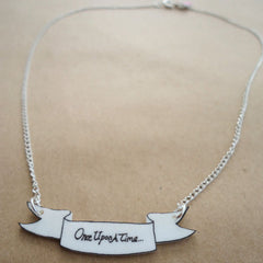 Necklace - Fairytale - Once upon a time / Happily Ever After