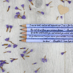 Pencils Set - Bronte - Jane Eyre Quotations-Stationery-Book Lover Gifts