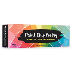 Game: Paint Chip Poetry: A Game of Color and Wordplay-Game-Book Lover Gifts