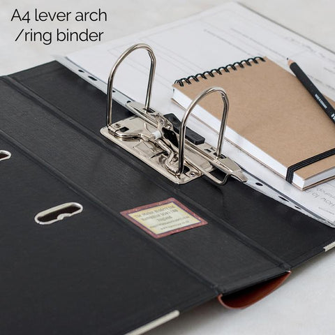 Lever Arch Book File - Vintage - Choose Your Colour & Title