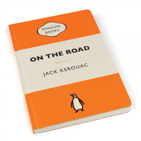 Penguin Book Cover Gifts : Notebook travel journal on the road penguin book