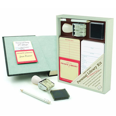 Personal Library - Home Librarian Kit-Game-Book Lover Gifts
