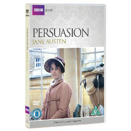 DVD - Persuasion - BBC - Amanda Root - 1995-DVD-Book Lover Gifts