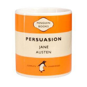 Mug - Penguin - Persuasion - Jane Austen-Mug-Book Lover Gifts