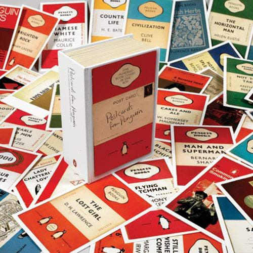 Vintage Penguin Book Cover Postcards : Postcards from penguin book jackets in one box