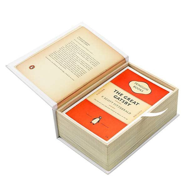 Penguin Book Cover Postcards : Postcards from penguin book jackets in one box