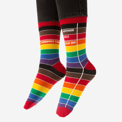 Socks - Library Card - Rainbow / Pride