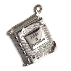 Book Charm Locket / Pendant - Silver - Pride and Prejudice-Jewellery-Book Lover Gifts