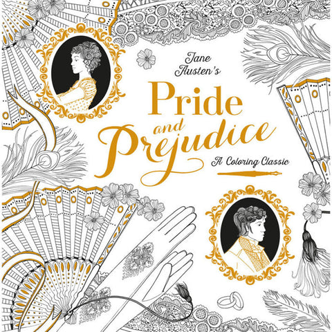 Colouring Classic Book - Pride And Prejudice - Jane Austen