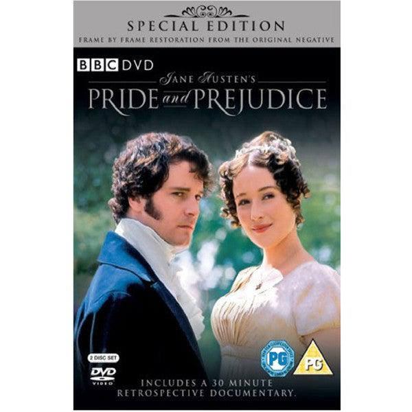 DVD - Pride & Prejudice - BBC - Colin Firth - 1995-DVD-Book Lover Gifts