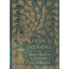Card - Pride & Prejudice - Peacock - Jane Austen-Cards-Book Lover Gifts