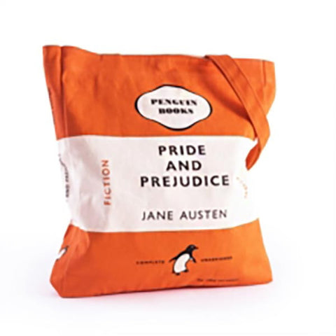 Book Bag - Pride and Prejudice - Penguin-Bag-Book Lover Gifts