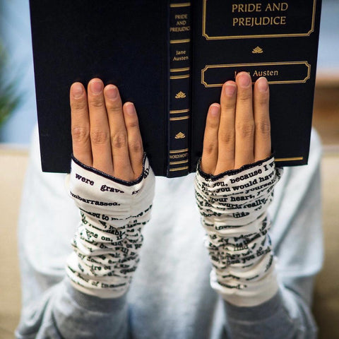 Writing Gloves - Pride & Prejudice - Jane Austen