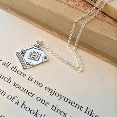 Necklace - Book Charm - Pride & Prejudice - Jane Austen-Jewellery-Book Lover Gifts