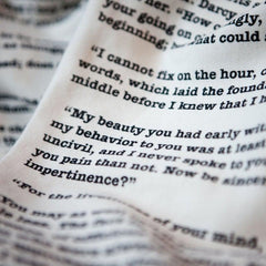Book Scarf - Pride & Prejudice - Jane Austen-Scarf-Book Lover Gifts
